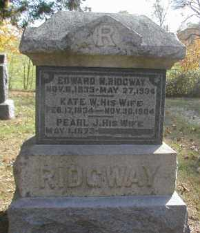 RIDGWAY, KATE - Gallia County, Ohio | KATE RIDGWAY - Ohio Gravestone Photos