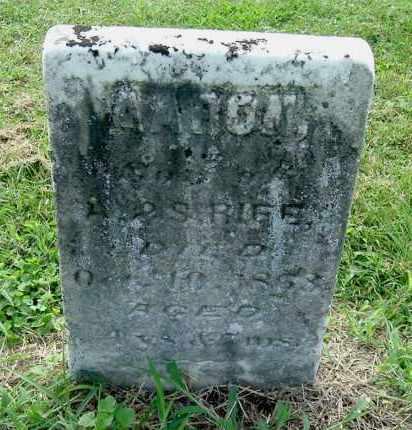 RIFE, AARON - Gallia County, Ohio   AARON RIFE - Ohio Gravestone Photos