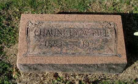 RIFE, CHAUNCEY W - Gallia County, Ohio | CHAUNCEY W RIFE - Ohio Gravestone Photos