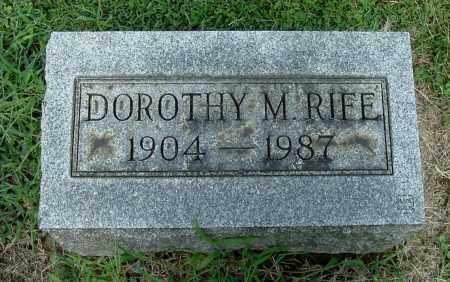 RIFE, DOROTHY M - Gallia County, Ohio   DOROTHY M RIFE - Ohio Gravestone Photos