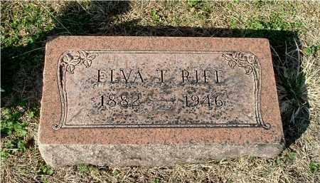 SCOTT RIFE, ELVA T - Gallia County, Ohio | ELVA T SCOTT RIFE - Ohio Gravestone Photos