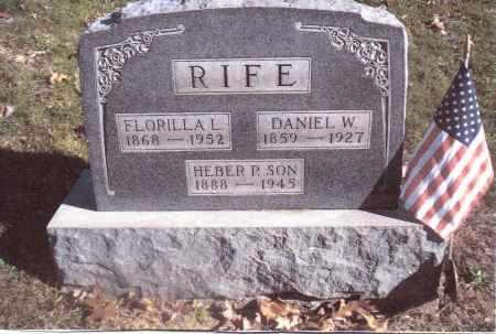 RIFE, FORILLLA L. - Gallia County, Ohio | FORILLLA L. RIFE - Ohio Gravestone Photos