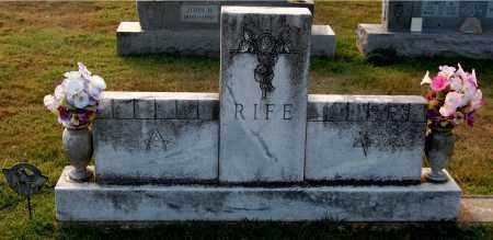 RIFE, FAMILY MONUMENT - Gallia County, Ohio   FAMILY MONUMENT RIFE - Ohio Gravestone Photos