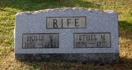 RIFE, HOLLIS W - Gallia County, Ohio   HOLLIS W RIFE - Ohio Gravestone Photos