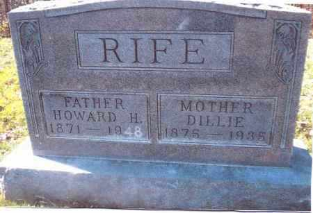 "COUGHNOUR RIFE, FIDELLA ""DILLIE"" - Gallia County, Ohio 