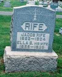 RIFE, SEREPTA ELLA - Gallia County, Ohio | SEREPTA ELLA RIFE - Ohio Gravestone Photos