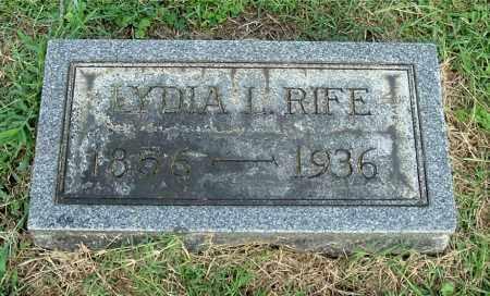 MATHEWS RIFE, LYDIA L - Gallia County, Ohio | LYDIA L MATHEWS RIFE - Ohio Gravestone Photos