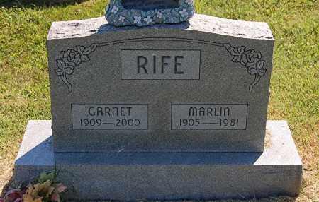 RIFE, GARNET - Gallia County, Ohio | GARNET RIFE - Ohio Gravestone Photos