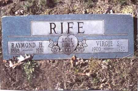 RIFE, VIRGIE S. - Gallia County, Ohio | VIRGIE S. RIFE - Ohio Gravestone Photos
