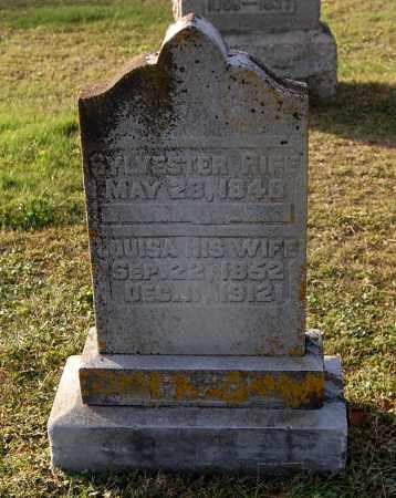 RIFE, SYLVESTER - Gallia County, Ohio | SYLVESTER RIFE - Ohio Gravestone Photos
