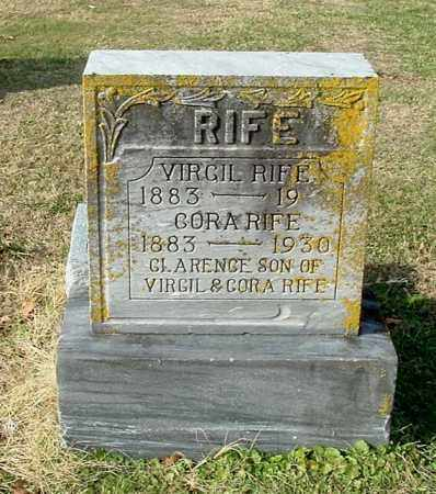 RIFE, VIRGIL - Gallia County, Ohio | VIRGIL RIFE - Ohio Gravestone Photos