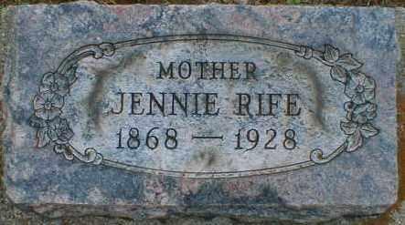 RIFE, VIRGINIA - Gallia County, Ohio | VIRGINIA RIFE - Ohio Gravestone Photos