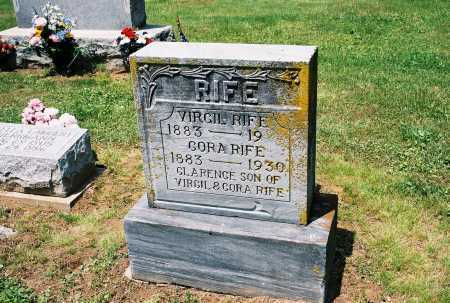 RIFE, CORA - Gallia County, Ohio | CORA RIFE - Ohio Gravestone Photos