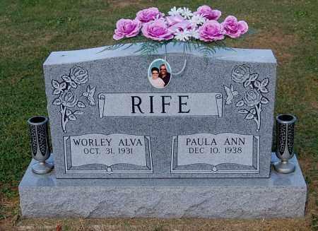 RIFE, WORLEY ALVA - Gallia County, Ohio | WORLEY ALVA RIFE - Ohio Gravestone Photos