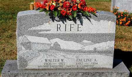 RIFE, PAULINE A. - Gallia County, Ohio | PAULINE A. RIFE - Ohio Gravestone Photos