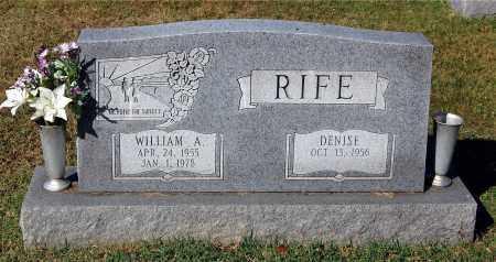 RIFE, WILLIAM A. - Gallia County, Ohio | WILLIAM A. RIFE - Ohio Gravestone Photos