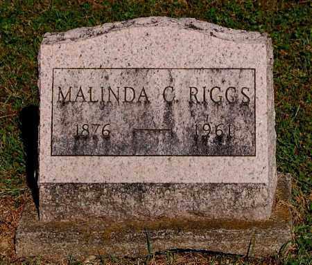 RIGGS, MALINDA C - Gallia County, Ohio | MALINDA C RIGGS - Ohio Gravestone Photos