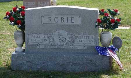 ROBIE, EVERETT RAYMOND - Gallia County, Ohio | EVERETT RAYMOND ROBIE - Ohio Gravestone Photos