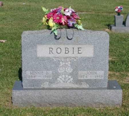 REYNOLDS ROBIE, MINNIE BELLE - Gallia County, Ohio | MINNIE BELLE REYNOLDS ROBIE - Ohio Gravestone Photos