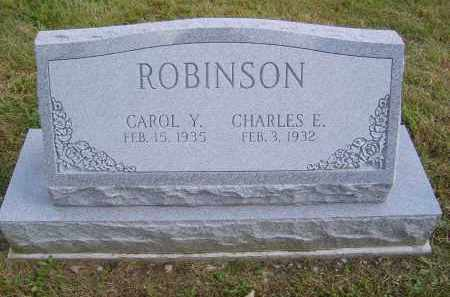 ROBINSON, CHARLES - Gallia County, Ohio | CHARLES ROBINSON - Ohio Gravestone Photos