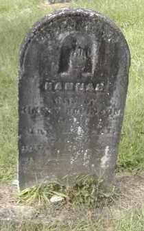 ROBINSON, HANNAH - Gallia County, Ohio | HANNAH ROBINSON - Ohio Gravestone Photos