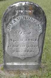 ROBINSON, JONAH - Gallia County, Ohio | JONAH ROBINSON - Ohio Gravestone Photos