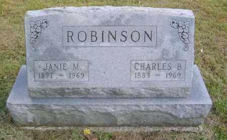 ROBINSON, JANIE - Gallia County, Ohio | JANIE ROBINSON - Ohio Gravestone Photos