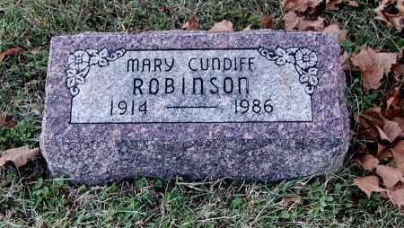ROBINSON, MARY - Gallia County, Ohio   MARY ROBINSON - Ohio Gravestone Photos