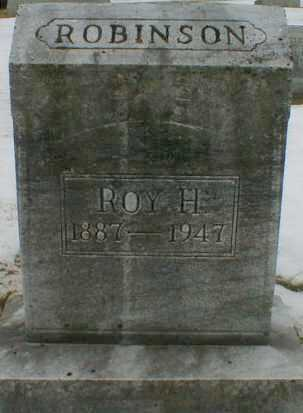 ROBINSON, ROY - Gallia County, Ohio   ROY ROBINSON - Ohio Gravestone Photos