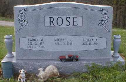 ROSE, AARON - Gallia County, Ohio | AARON ROSE - Ohio Gravestone Photos