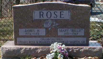 ROSE, MARY - Gallia County, Ohio | MARY ROSE - Ohio Gravestone Photos