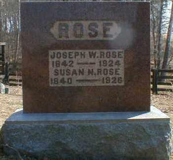 ROSE, SUSAN - Gallia County, Ohio | SUSAN ROSE - Ohio Gravestone Photos