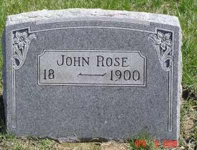 ROSE, JOHN - Gallia County, Ohio   JOHN ROSE - Ohio Gravestone Photos