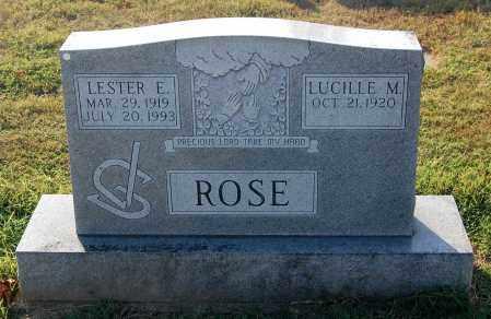 ROSE, LUCILLE M. - Gallia County, Ohio | LUCILLE M. ROSE - Ohio Gravestone Photos