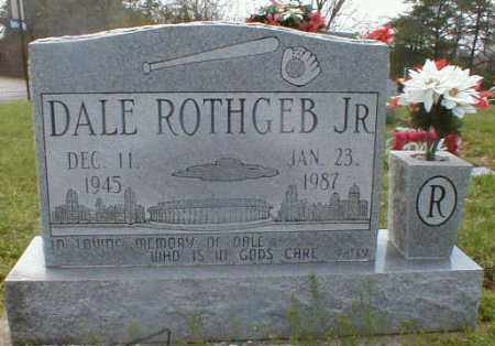 ROTHGEB, DALE - Gallia County, Ohio | DALE ROTHGEB - Ohio Gravestone Photos