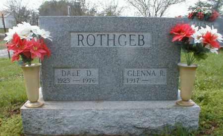 SHAVER ROTHGEB, GLENNA - Gallia County, Ohio | GLENNA SHAVER ROTHGEB - Ohio Gravestone Photos