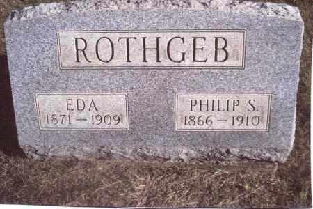 ROTHGEB, PHILIP S. - Gallia County, Ohio | PHILIP S. ROTHGEB - Ohio Gravestone Photos