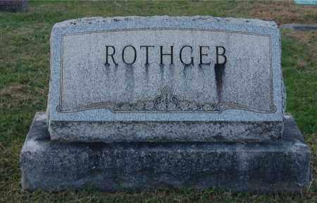 ROTHGEB, FAMILY GROUPING - Gallia County, Ohio   FAMILY GROUPING ROTHGEB - Ohio Gravestone Photos