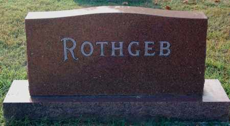 ROTHGEB, FAMILY MONUMENT - Gallia County, Ohio   FAMILY MONUMENT ROTHGEB - Ohio Gravestone Photos
