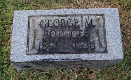 ROTHGEB, GEORGE M - Gallia County, Ohio | GEORGE M ROTHGEB - Ohio Gravestone Photos