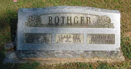 ROTHGEB, BESSIE G - Gallia County, Ohio | BESSIE G ROTHGEB - Ohio Gravestone Photos