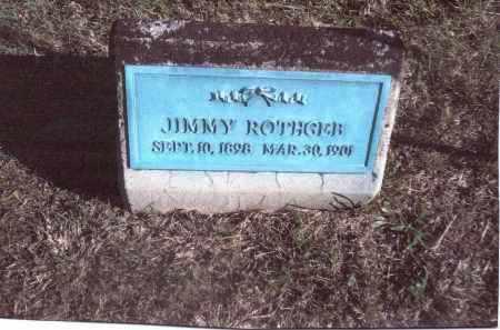 ROTHGEB, JIMMY - Gallia County, Ohio   JIMMY ROTHGEB - Ohio Gravestone Photos