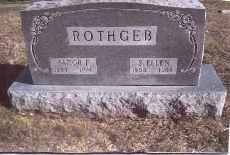 ROTHGEB, S. ELLEN - Gallia County, Ohio | S. ELLEN ROTHGEB - Ohio Gravestone Photos