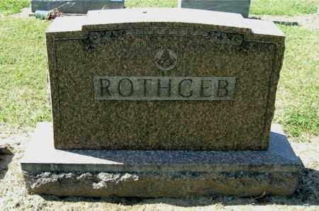 ROTHGEB, MONUMENT - Gallia County, Ohio   MONUMENT ROTHGEB - Ohio Gravestone Photos
