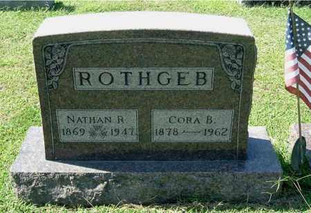 ROTHGEB, NATHAN R - Gallia County, Ohio | NATHAN R ROTHGEB - Ohio Gravestone Photos