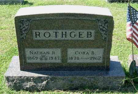 ROTHGEB, CORA B - Gallia County, Ohio   CORA B ROTHGEB - Ohio Gravestone Photos