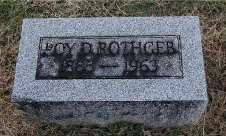 ROTHGEB, ROY D - Gallia County, Ohio   ROY D ROTHGEB - Ohio Gravestone Photos