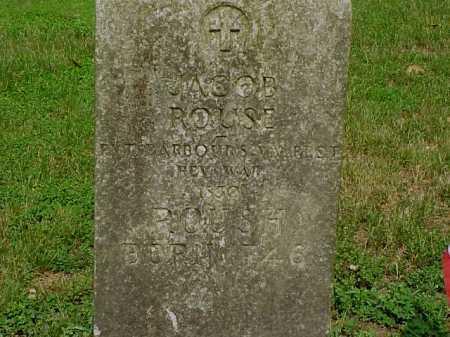 ROUSE/ROUSH, JACOB - Gallia County, Ohio | JACOB ROUSE/ROUSH - Ohio Gravestone Photos