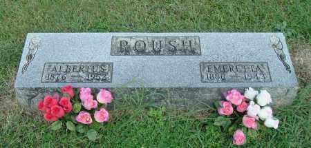 ROUSH, EMERETTA - Gallia County, Ohio | EMERETTA ROUSH - Ohio Gravestone Photos
