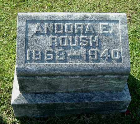 ROUSH, ANDORA E - Gallia County, Ohio | ANDORA E ROUSH - Ohio Gravestone Photos